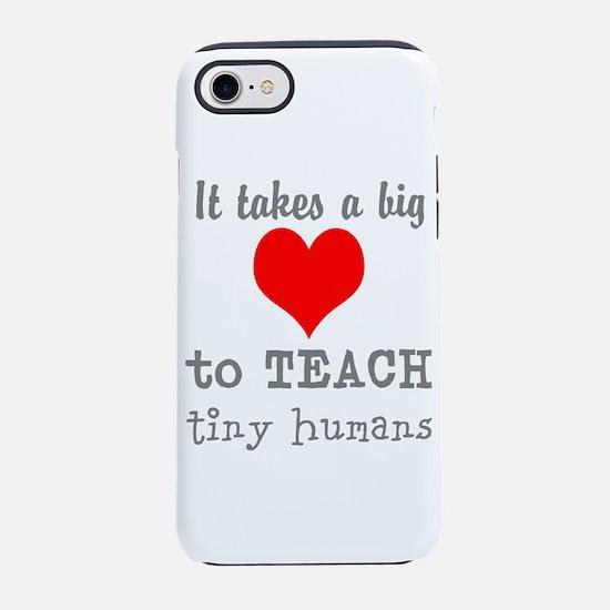 Teachers Heart iPhone 8/7 Tough Case