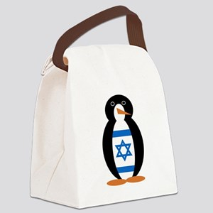 Penguin of Israel Canvas Lunch Bag
