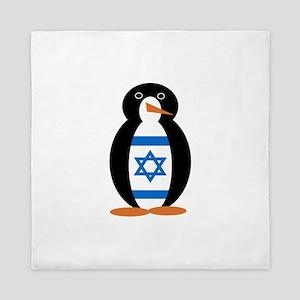 Penguin of Israel Queen Duvet