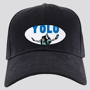 Yolo Sky Diving Black Cap with Patch