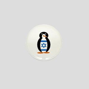 Penguin of Israel Mini Button
