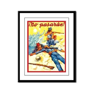 They Shall Not Pass! Framed Panel Print