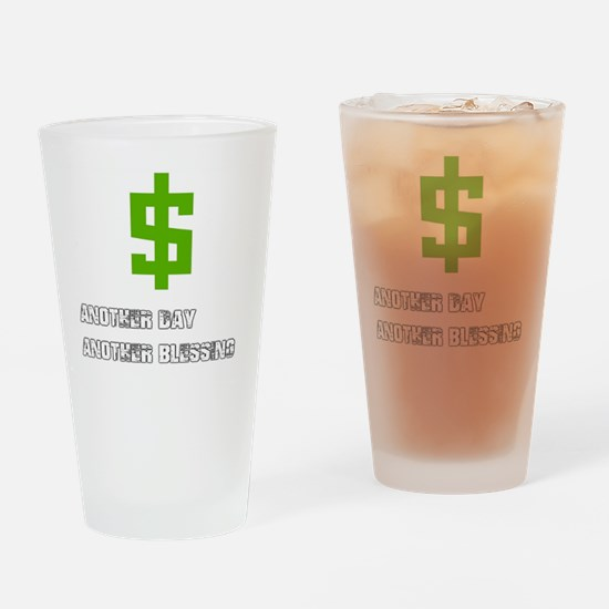 Funny Divine intervention Drinking Glass
