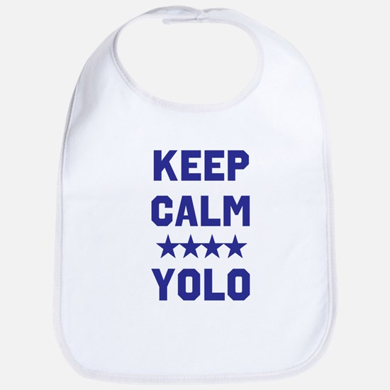 Yolo Cotton Baby Bib