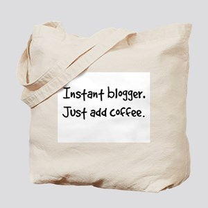 Just add coffee. Tote Bag