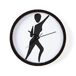 Jazz Dancer Wall Clock