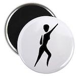 Jazz Dancer Magnet