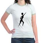 Jazz Dancer Jr. Ringer T-Shirt