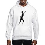 Jazz Dancer Hooded Sweatshirt