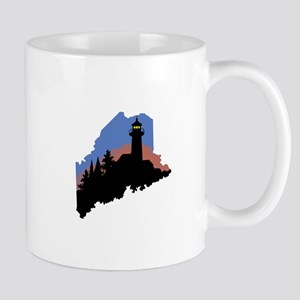 State Of Maine Mugs