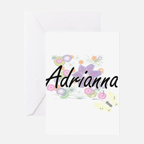 Adrianna Artistic Name Design with Greeting Cards