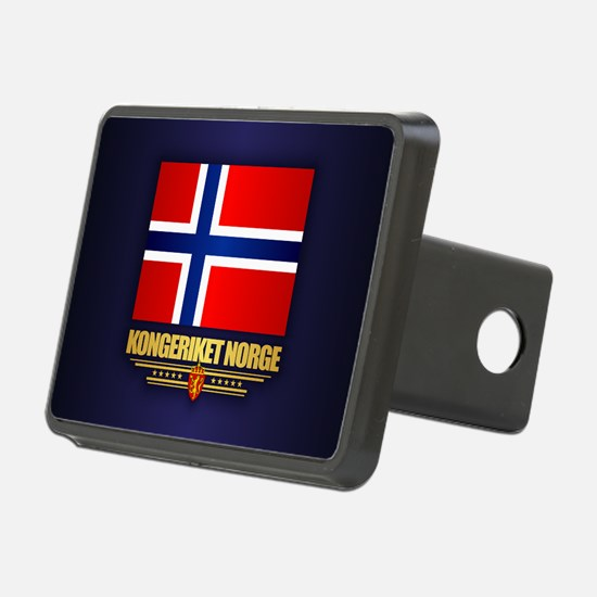 Flag of Norway Hitch Cover