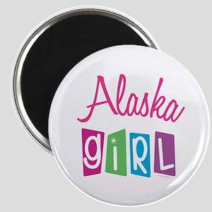 """ALASKA GIRL! 2.25"""" Magnet (10 pack)"""