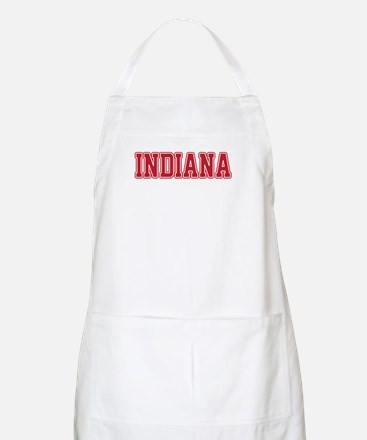 Indiana Jersey Red Apron