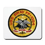 USS GRAY Mousepad