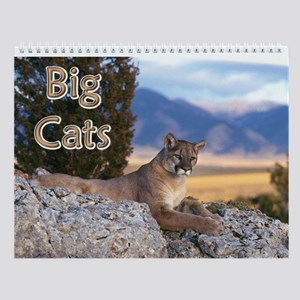 Big Exotic Cats Wall Calendar