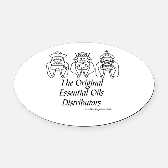 Doterra essential oils Oval Car Magnet