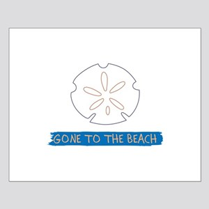 Gone To Beach Applique Posters