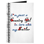 Country Gal Sailor Love Journal