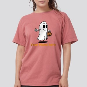 Personalized Halloween Womens Comfort Colors Shirt