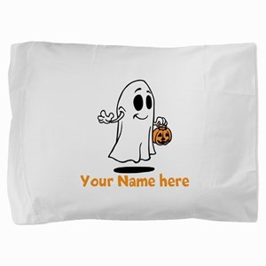Personalized Halloween Pillow Sham