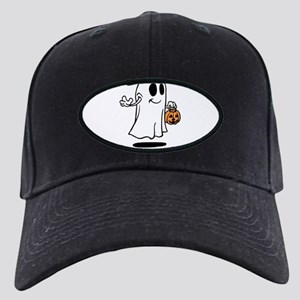 Personalized Halloween Black Cap with Patch