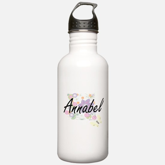 Annabel Artistic Name Sports Water Bottle