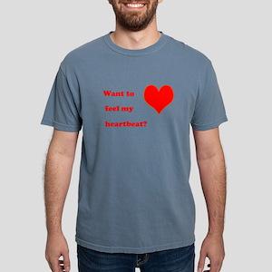 Feel my heartbeat Mens Comfort Colors Shirt