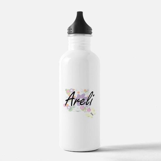 Areli Artistic Name De Water Bottle