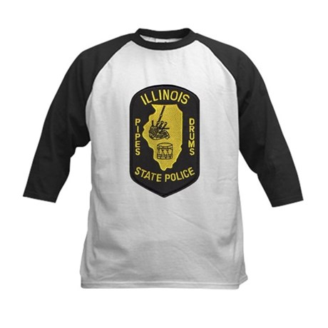 Illinois SP Pipes & Drums Kids Baseball Jersey