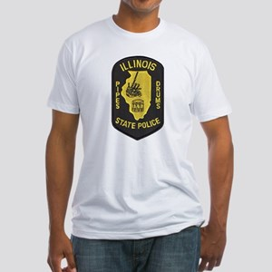 Illinois SP Pipes & Drums Fitted T-Shirt