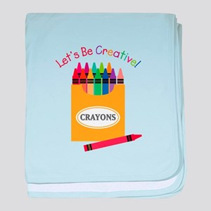 Lets Be Creative baby blanket