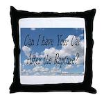 Rapture Wear! Car Throw Pillow