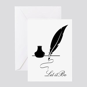 Let It Be Greeting Cards