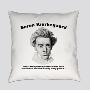 Kierkegaard Pleasure Everyday Pillow