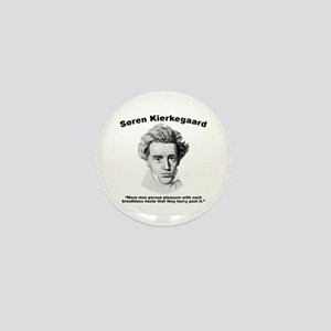 Kierkegaard Pleasure Mini Button