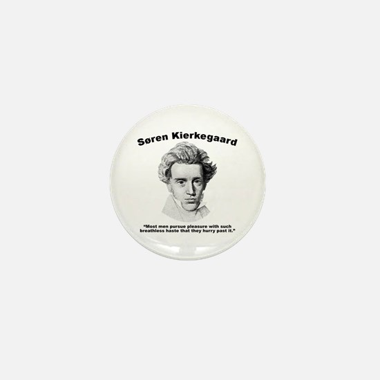 Kierkegaard Pleasure Mini Button