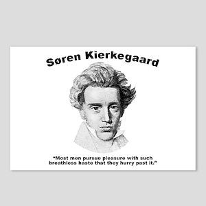Kierkegaard Pleasure Postcards (Package of 8)