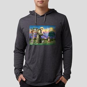 St Francis / Aussie (rm) Mens Hooded Shirt
