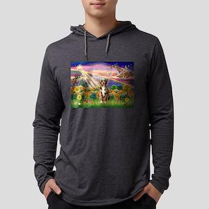 Autumn Angel / Aussie (rm) Mens Hooded Shirt