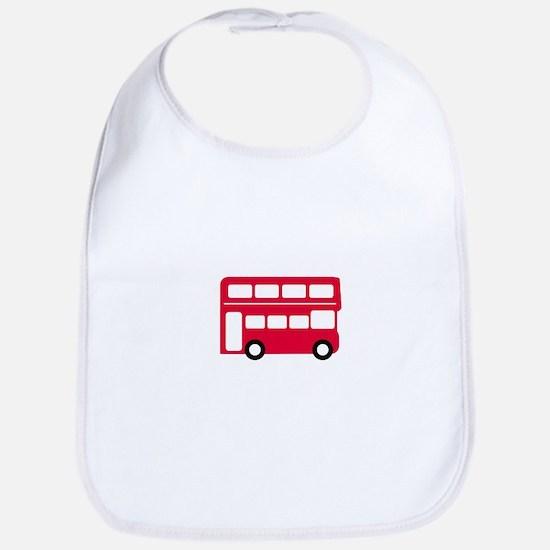 Big Red Bus Bib