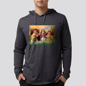Angels & Basset Mens Hooded Shirt