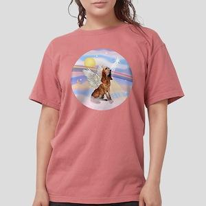 Clouds-BloodhoundAngel Womens Comfort Colors Shirt