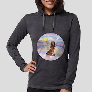 Clouds-BloodhoundAngel Womens Hooded Shirt