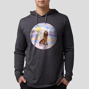 Clouds-BloodhoundAngel Mens Hooded Shirt
