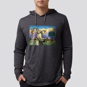 St Francis & Border T Mens Hooded Shirt