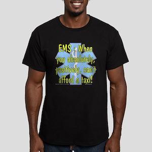 EMS - Can't Afford a Taxi! Women's Dark T-Shirt