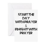 Daily Prayers Greeting Cards
