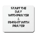 Daily Prayers Mousepad