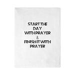 Daily Prayers Twin Duvet
